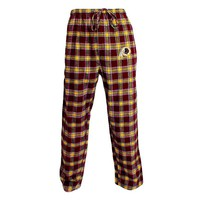 College Concepts Washington Redskins Acclaim Flannel Pants