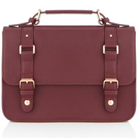 Guilford Satchel | Red | Accessorize