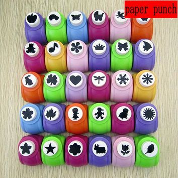 free shipping 1pc 5/8 inch (about 12mm -15mm)craft punch Scrapbook punches paper puncher hole punch for paper project