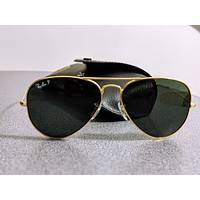 Ray-Ban RB3025 002/58 Aviator Classic Black Sunglasses polarized