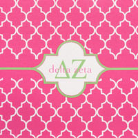 Delta Zeta Neoprene Laptop Sleeve