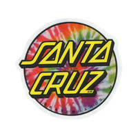 Santa Cruz Tie Dye Sticker Multi One Size For Men 24772795701