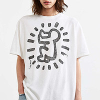 Junk Food Keith Haring Baby Washed Tee - Urban Outfitters