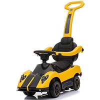 Licensed Pagani Multi Function 6V Kid Drive-able Ride on Push Car