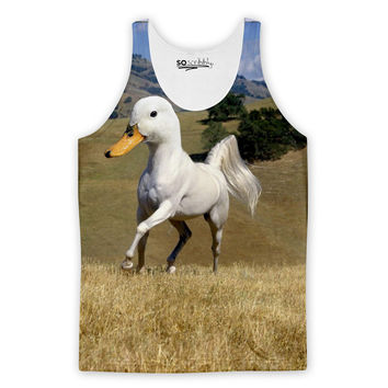 One Horse Sized Duck Tank Top