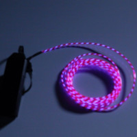 Motion Chasing El Wire Kit with 3-Mode Battery Pack