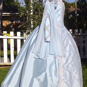 Princess Cinderella Deluxe Elizabethan Fantasy Gown Custom Color and Size