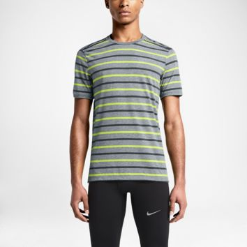 Nike Tailwind Stripe Men's Running Shirt