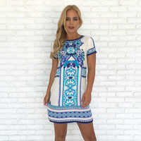 Lost In Love Print Dress