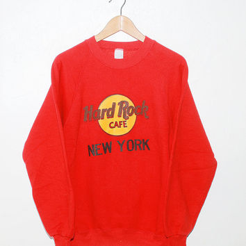 Vintage 80s Hard Rock Cafe New York Sweater