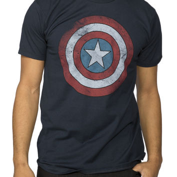 Guys 'Captain America' Licensed Graphic Tee