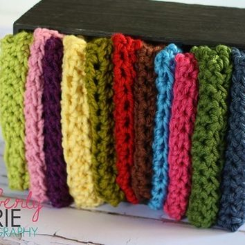 Crochet Baby Blanket - You Choose The Color