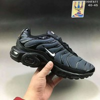 Air Max Plus Men Running Roshe Sport Casual Shoes Sneakers Navy blue G-A0-HXYDXPF