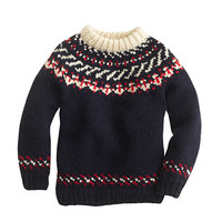 crewcuts Boys Canadian Sweater Company Hand-Knit Wool Sweater