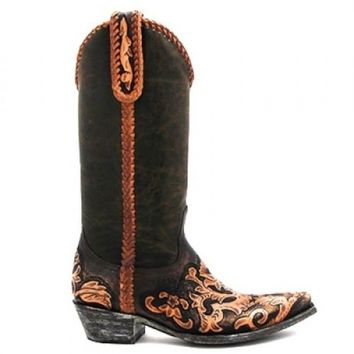 Old Gringo Expresso Sonia Tooled Boot