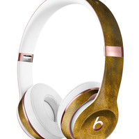 Fading Golden Fire Field V2 Full-Body Skin Kit for the Beats by Dre Solo 3 Wireless Headphones