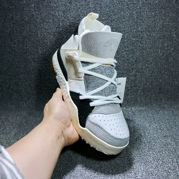 [ Free Shipping]Adidas x Alexander Wang AW Bball Boost White  Sneakers