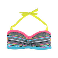BCA by Rebecca Virtue Womens Bandeau Halter Swim Top Separates