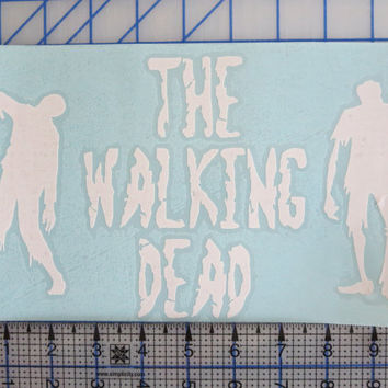 The Walking Dead vehicle auto window decal Zombies