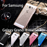 Hot Bling Luxury phone case for Samsung Galaxy Grand Prime G530 G530H Shinning back cover Sparkling case for G530 Free Shipping