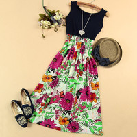 A 080109 Fashion sleeveless vest dress