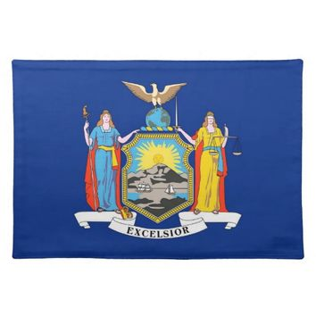 New York Flag American MoJo Placemat