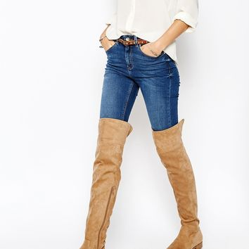 ASOS KISS ME QUICK Over The Knee Boots