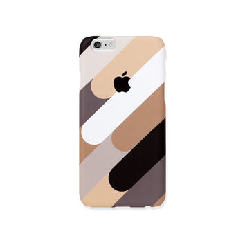 iPhone 5s case - Coffee Mix - iPhone 5s case, iPhone 6s case, iPhone 6+ case, Good Luck Gold Sticker, non-glossy hard shell M25