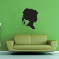 Anna Silhouette - Frozen - Wall Decal