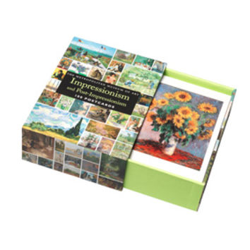 Impressionism and Post-Impressionism 100 Postcards