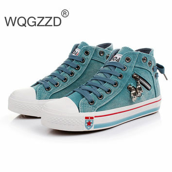 Women Stars High Top Canvas Shoes All Fashion Women Casual Canvas Shoes Zapatos Mujer Size35-40