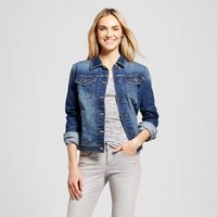 Women's Denim Jacket - Merona™ Dark Indigo