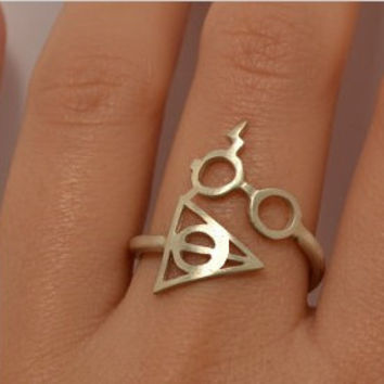 Shiny New Arrival Gift Stylish Jewelry Accessory Harry Potter Ring [4918838212]