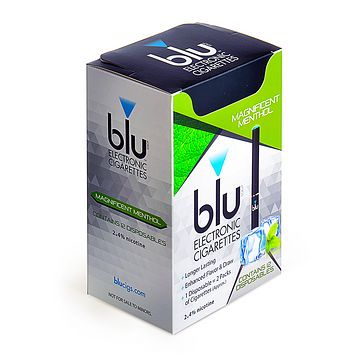 blu eCIGS 2.4% nicotine Magnificent Menthol Box of 12