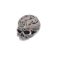 Skull Applique Iron on Patch