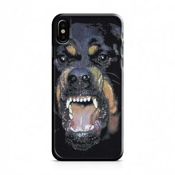Givenchy Rottweiler iPhone X Case