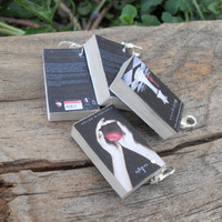 Miniature Book Charms - Twilight Saga - 4 books