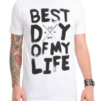 American Authors Best Day Of My Life T-Shirt