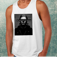 All Monsters Are Human, American Horror Story Clothing Tank Top For Mens