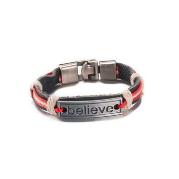 believe positive energy bracelet