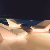 Garden bed DAYBED Faz Collection by VONDOM | design Ramón Esteve