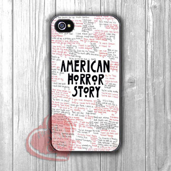 american horror story quotes-1nn for iPhone 4/4S/5/5S/5C/6/ 6+,samsung S3/S4/S5,samsung note 3/4