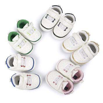 Adorable Sneakers Newborn Baby Crib Shoes Boys Girls Infant Toddler Soft Sole US