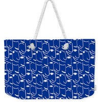 Smiling Side Faces Weekender Tote Bag for Sale by Gravityx9 Designs