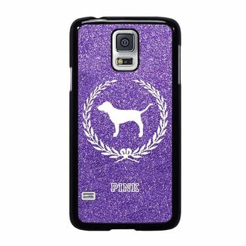 PINK DOG VICTORIA'S SECRET Samsung Galaxy S5 Case Cover