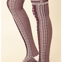 Free People - Boyfriend Over The Knee Sock