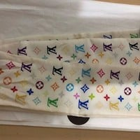 LMFMS6 Louis Vuitton silk scarf