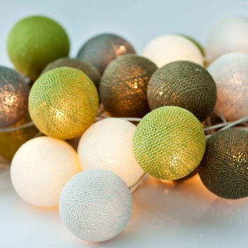 String Lights Cotton Ball Ideal for your home, garden