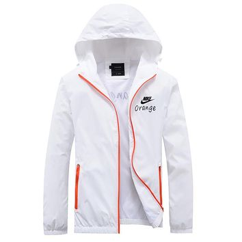 Trendsetter Nike Women Men Cardigan Jacket Coat Windbreaker