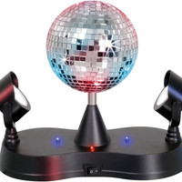 Lumisource Disco Ball with 2 Mirrors